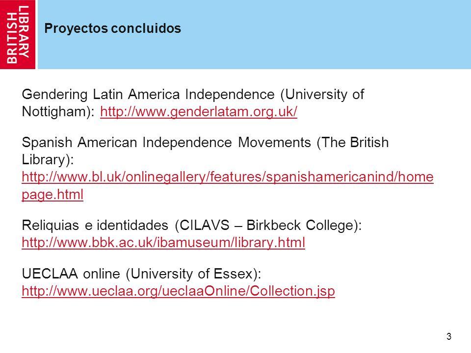 4 Proyecto en desarrollo Pronunciamientos (University of St Andrews): http://arts.st- andrews.ac.uk/pronunciamientos/index.phphttp://arts.st- andrews.ac.uk/pronunciamientos/index.php Plazo de finalizacion: 2010