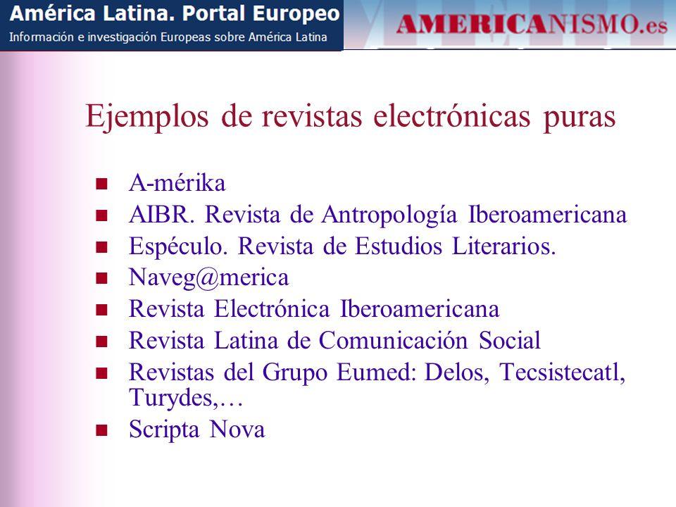 Presencia en Scopus (4) www.scopus.com Anales de Literatura Hispanoamericana Revista Complutense de Historia de América Revista Española de Antropología Americana Scripta Nova