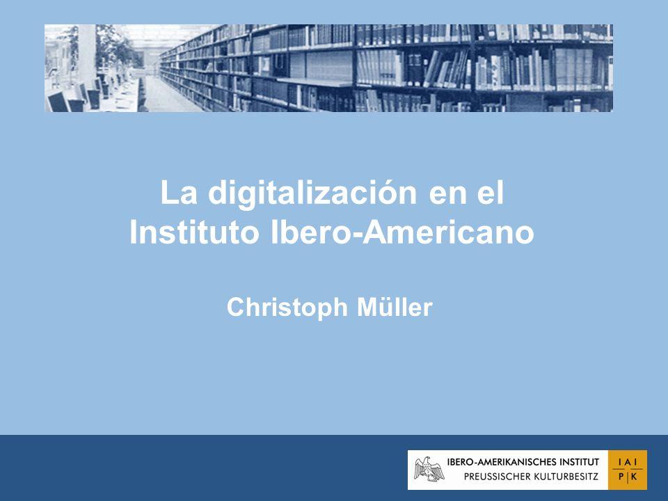 La digitalización en el Instituto Ibero-Americano Christoph Müller
