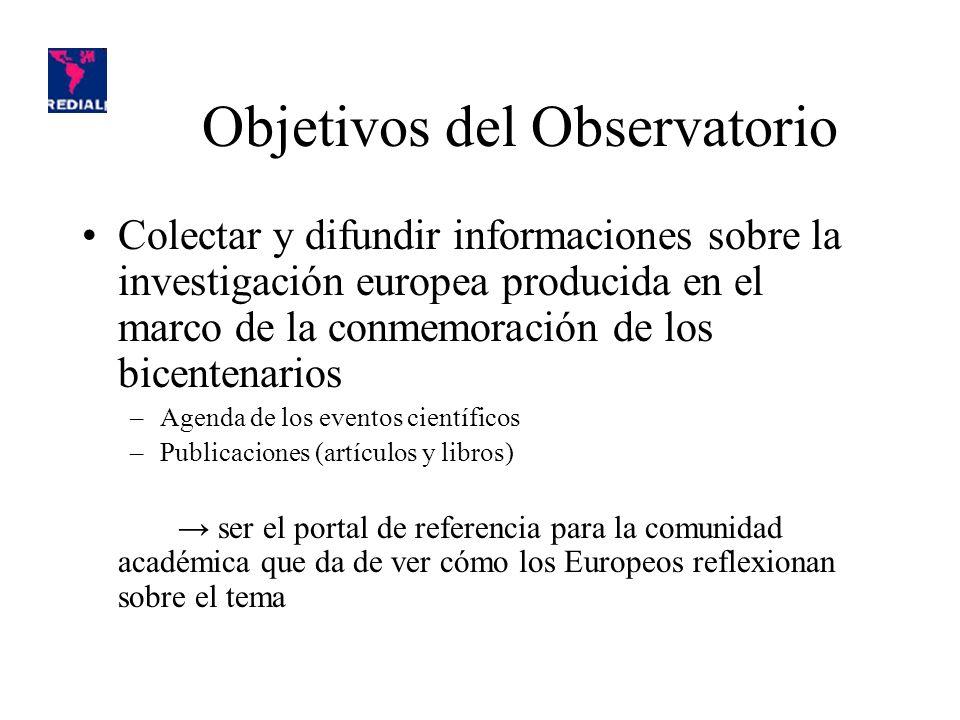 Ejemplo de repartición cruzada Ojo: los países son los países productores de informaciones