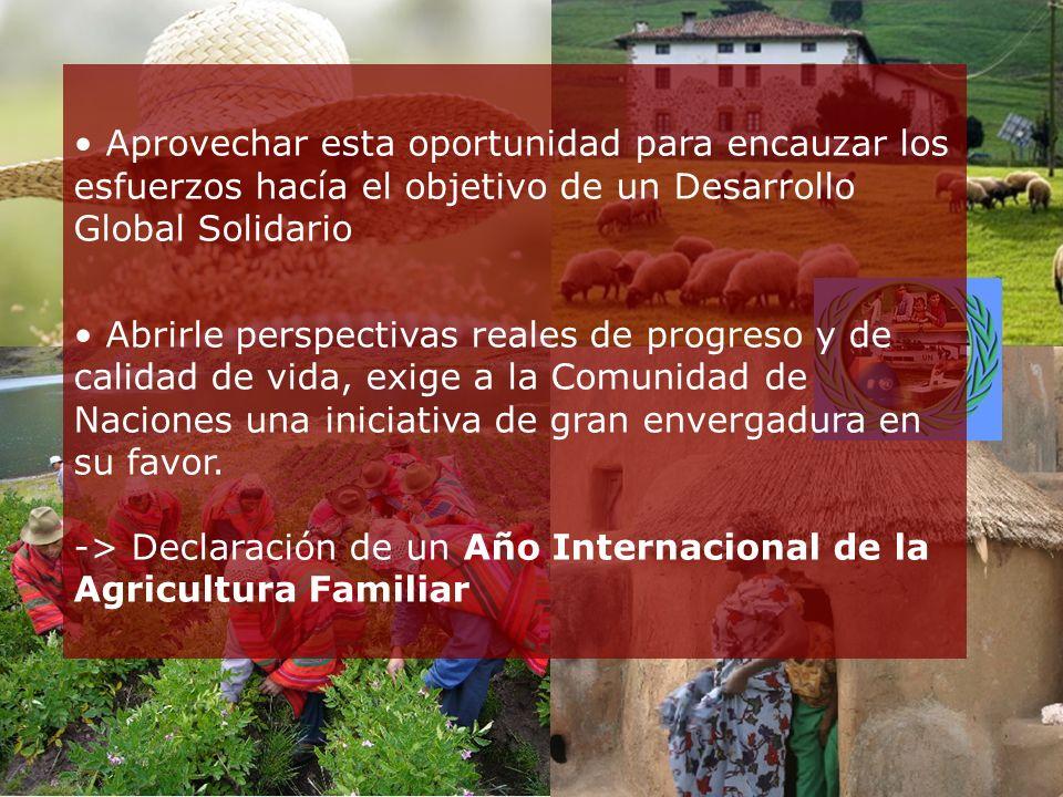 Un Año Internacional de la Agricultura Familiar