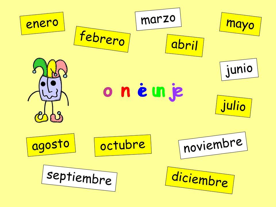 a m o y enero febrero marzo abril mayo junio julio agosto septiembre octubre noviembre diciembre o r e n e