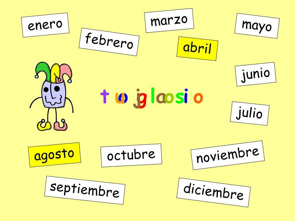 a l r i b enero febrero marzo abril mayo junio julio agosto septiembre octubre noviembre diciembre t o g a s o