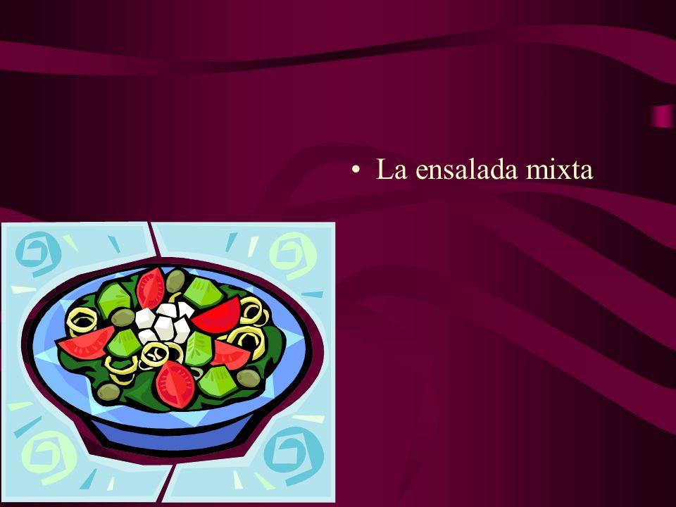 La ensalada mixta