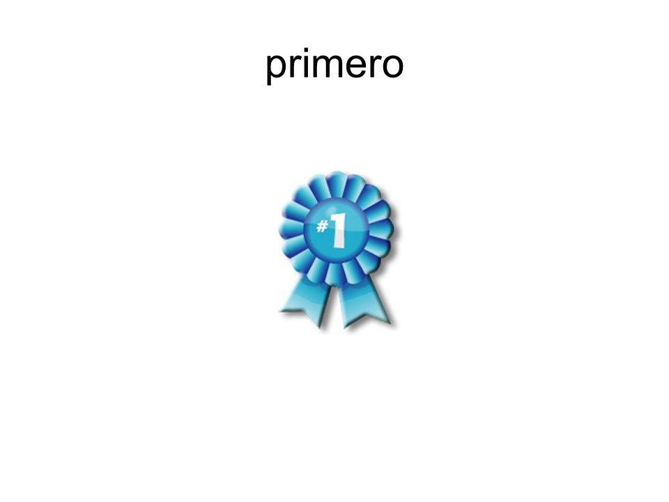primero