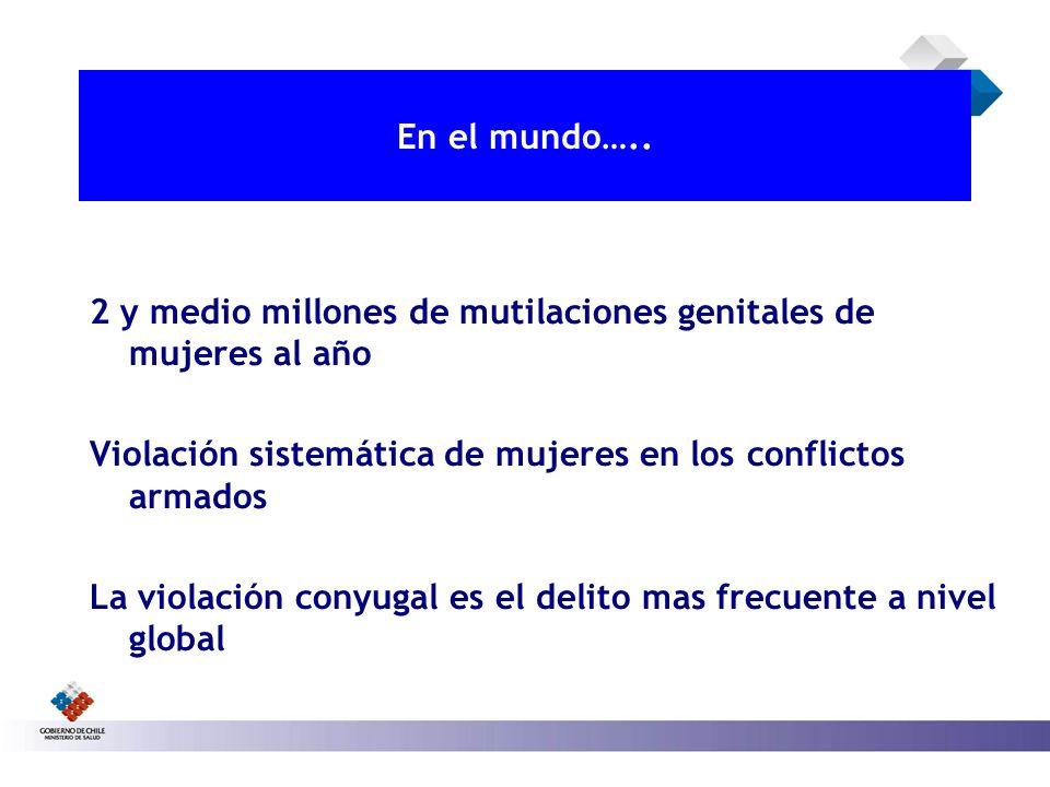 Oferta de atención para mujeres que sufren violencia en la red asistencial pública: Programa Piloto FONASA-MINSAL para atención de mujeres que demandan atención en servicios de urgencia por lesiones asociadas a Violencia Intrafamiliar.