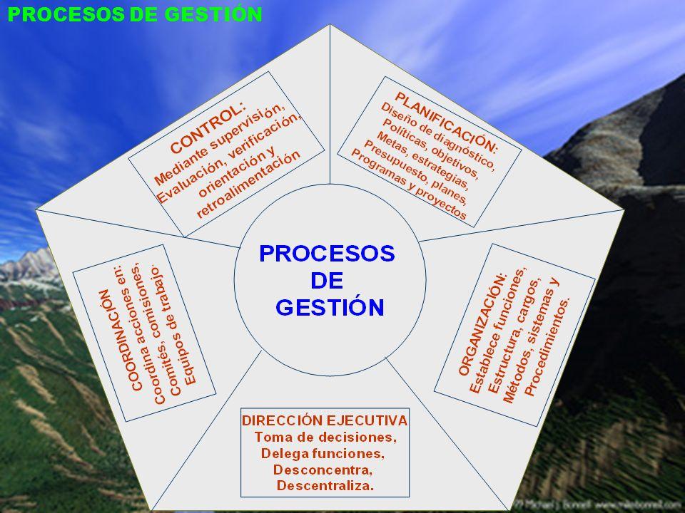 4.1 PRINCIPIOS DE GESTIÓN GESTIÓN CENTRADA EN LOS EDUCANDOS JERARQUÍA Y AUTORIDAD CLARAMENTE DEFINIDAS DETERMINACIÓN CLARA DE QUIÉN Y CÓMO SE TOMAN LAS DECISIONES.