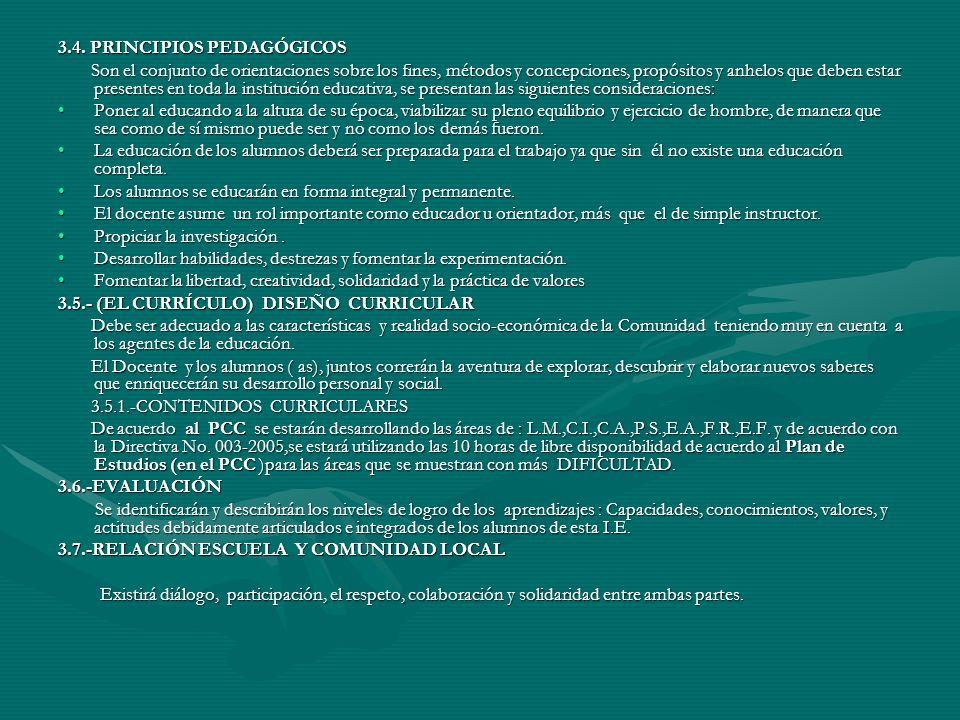 D.-PERFIL DEL PADRE DE FAMILIA: Cumplir con las normas del Centro Educativo.Cumplir con las normas del Centro Educativo.