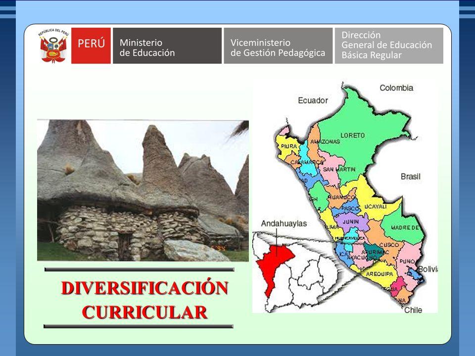 MINISTERIO DE EDUCACIÓN REPÚBLICA DEL PERÚ Geográfica.