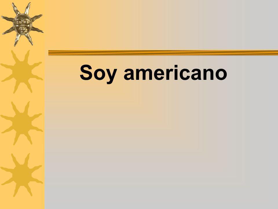 Soy americano