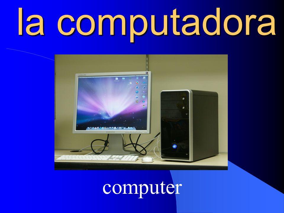 la computadora computer