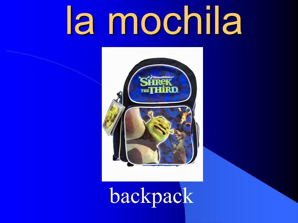 la mochila backpack