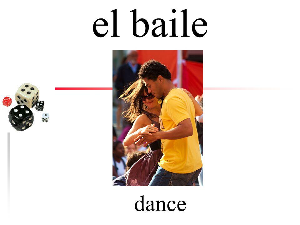 el baile dance