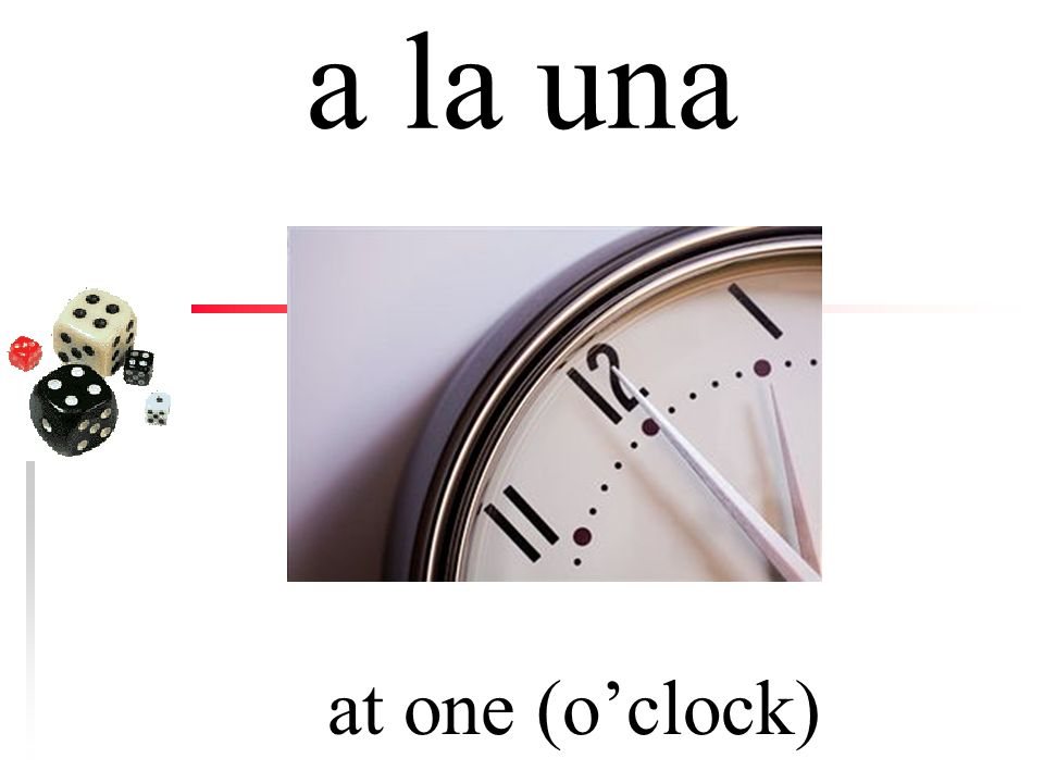 ¿a qué hora (at) what time