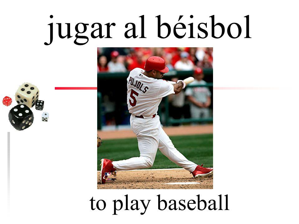 jugar to play (games, sports)