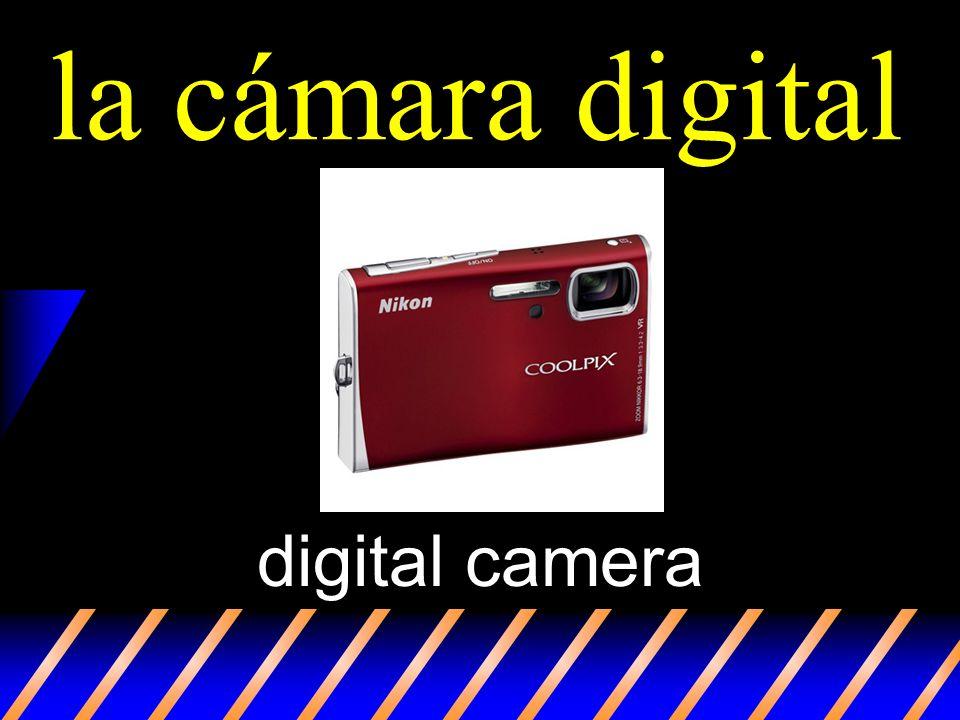 la cámara digital digital camera