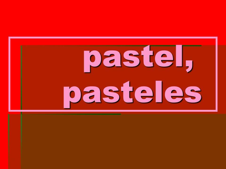 pastel, pasteles pastel, pasteles