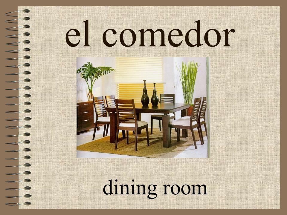 el comedor dining room