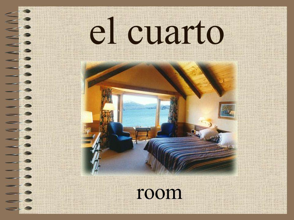 arreglar el cuarto to straighten up the room