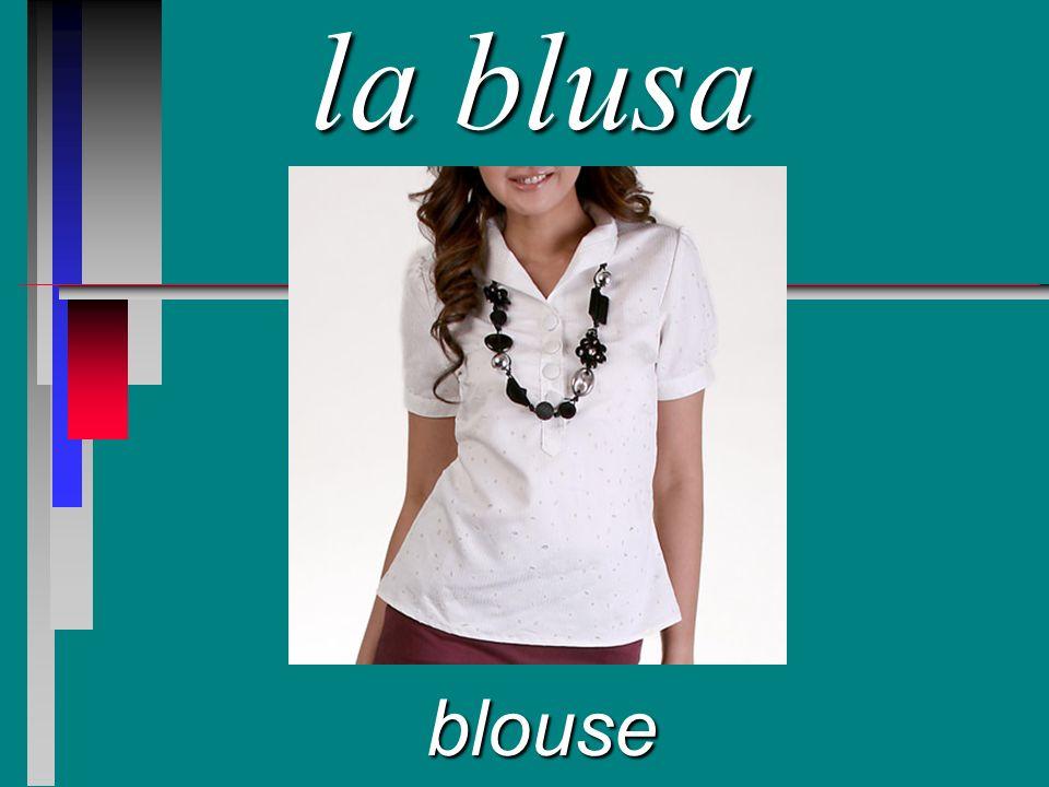 la blusa blouse