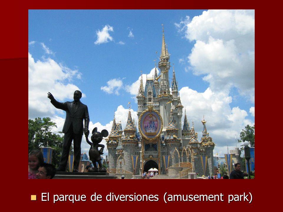 El parque de diversiones (amusement park) El parque de diversiones (amusement park)