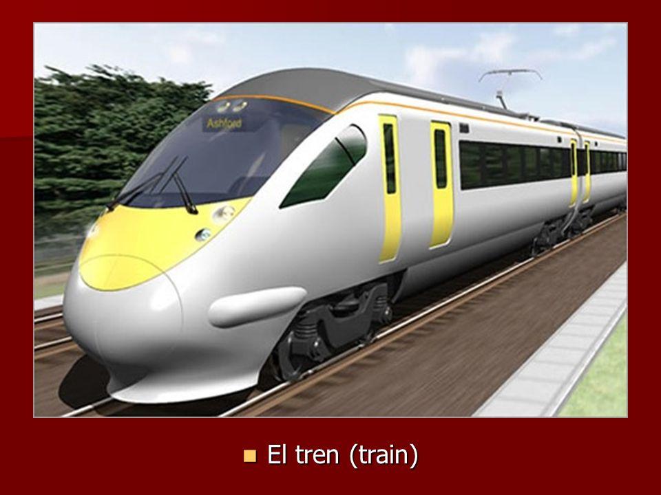 El tren (train) El tren (train)