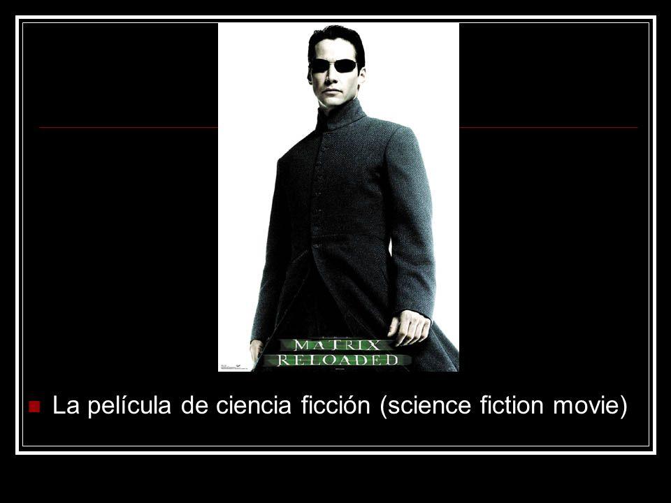 La película de ciencia ficción (science fiction movie)