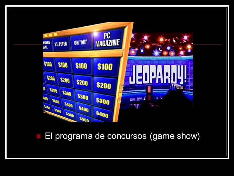 El programa de concursos (game show)