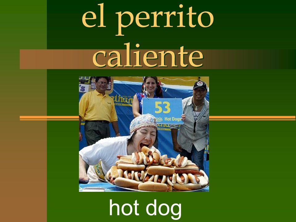 el perrito caliente hot dog