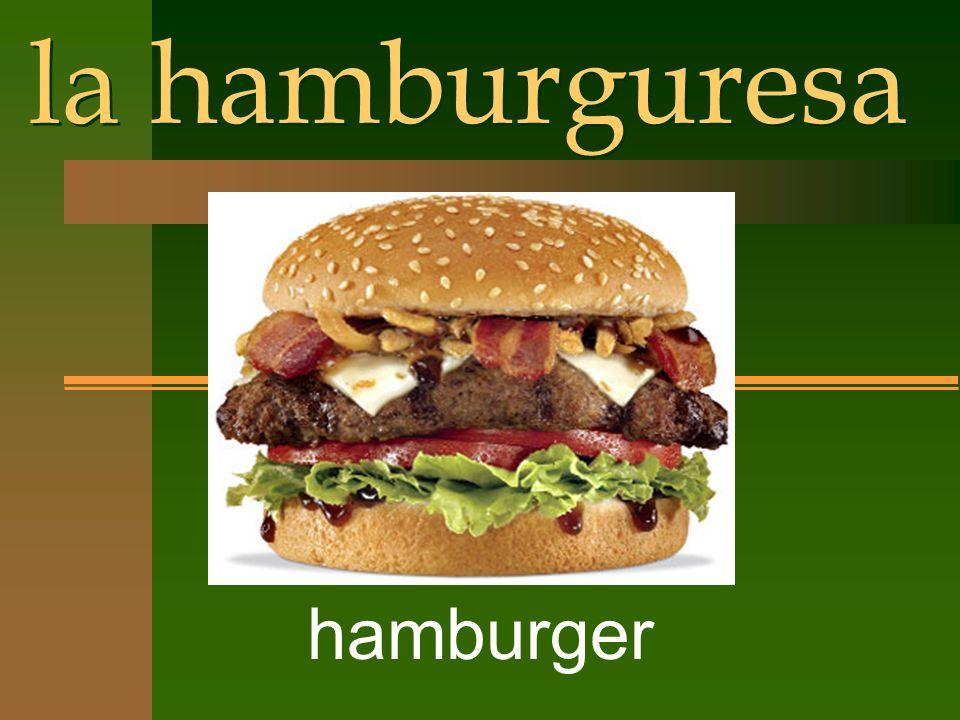 la hamburguresa hamburger