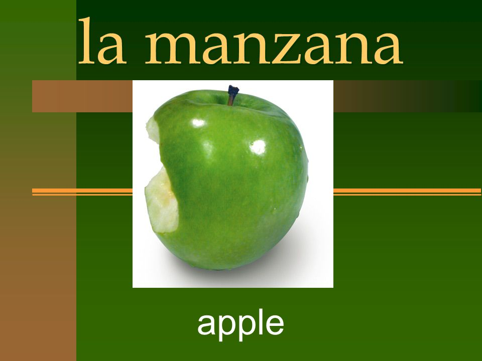 la manzana apple