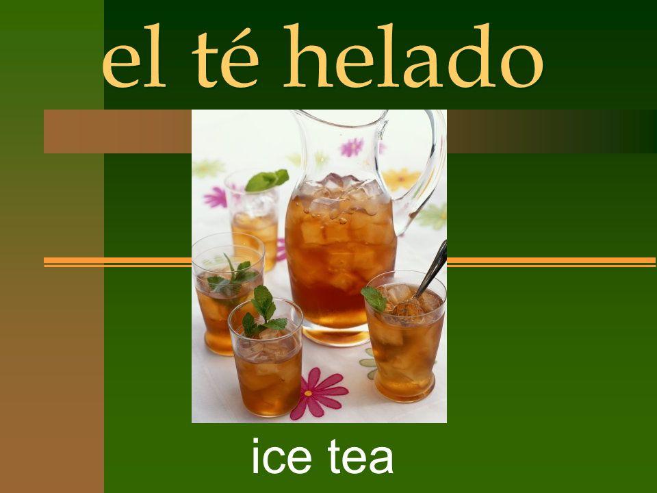 el té helado ice tea