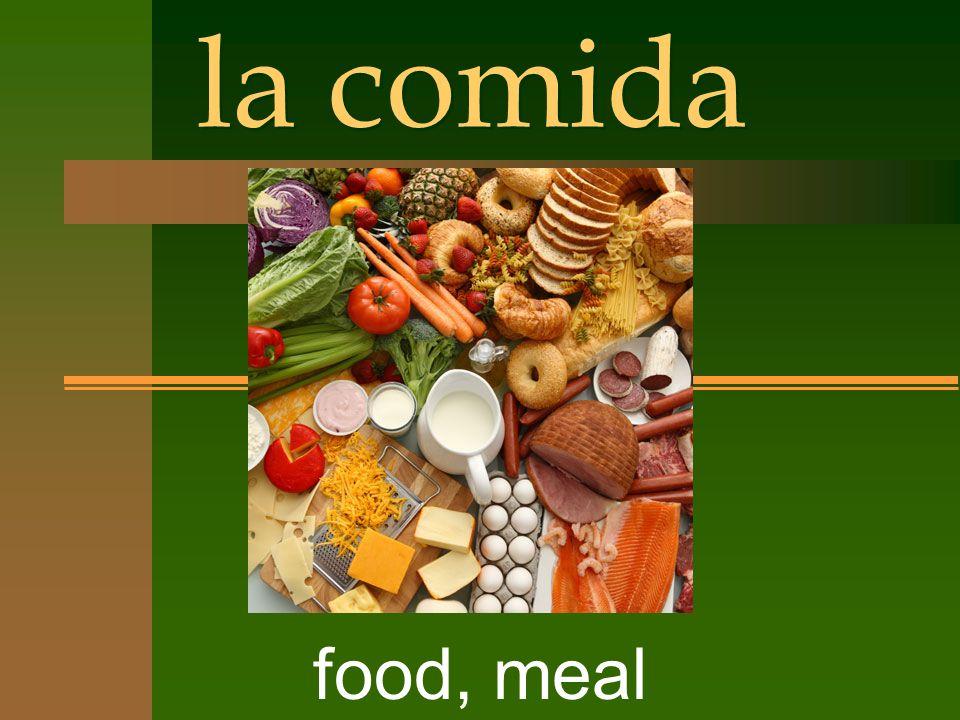 la comida food, meal