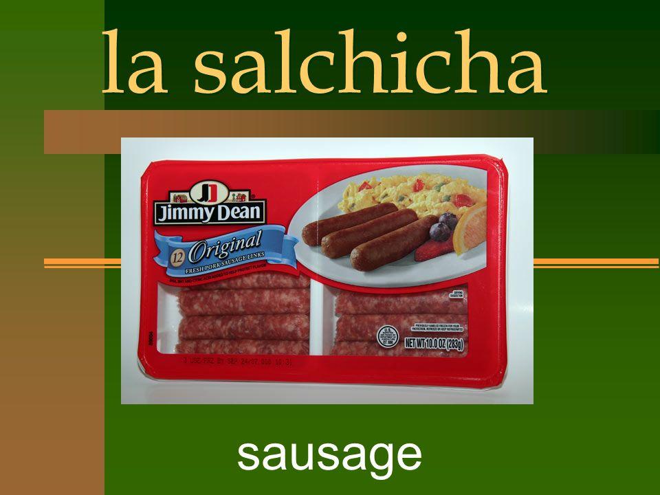 la salchicha sausage