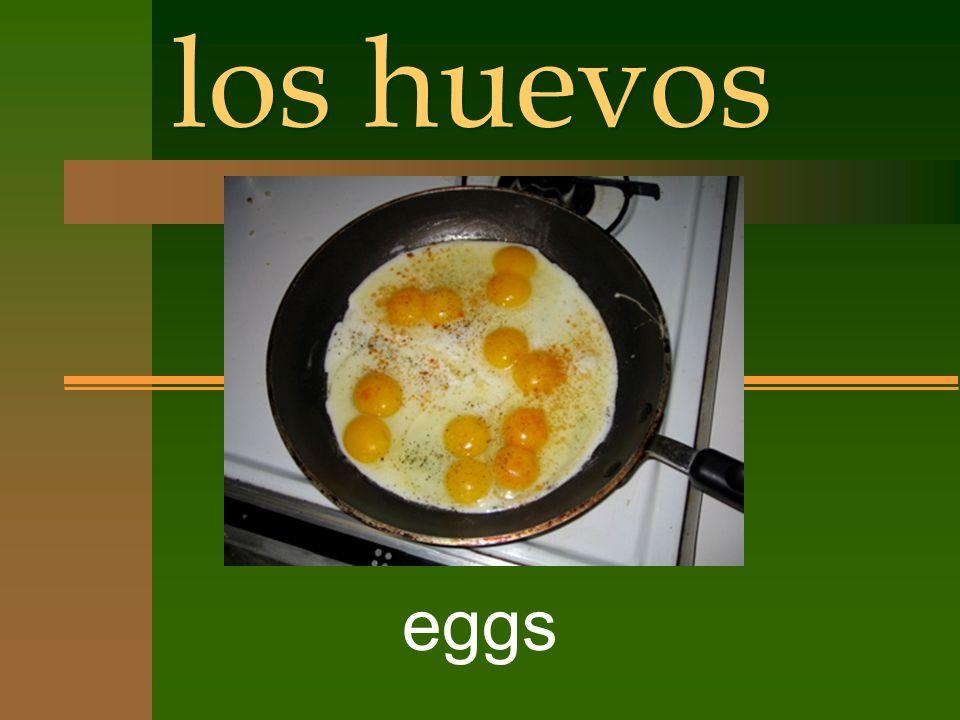 los huevos eggs