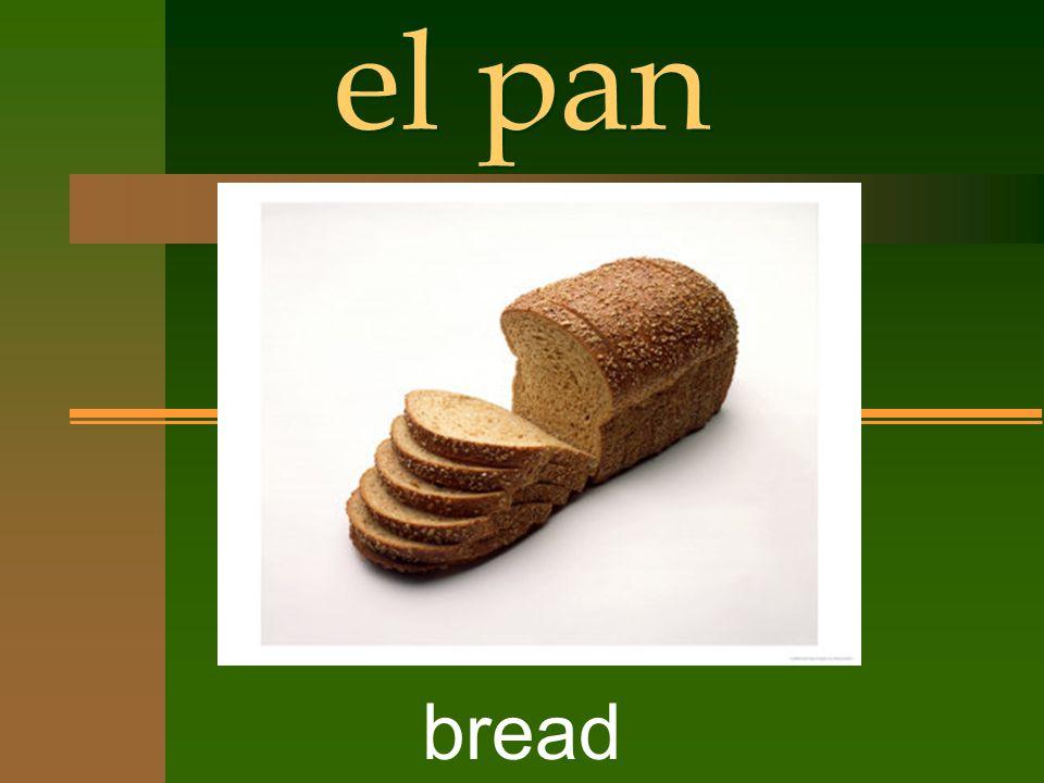 el pan bread