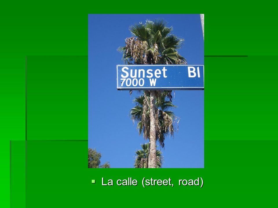 La calle (street, road) La calle (street, road)
