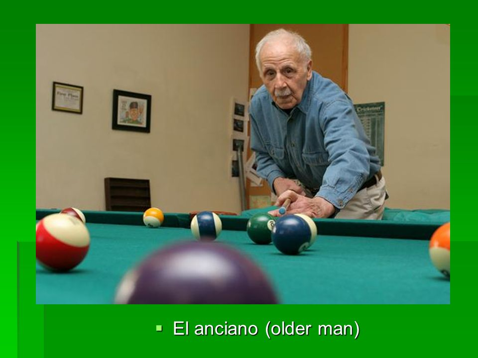 El anciano (older man) El anciano (older man)