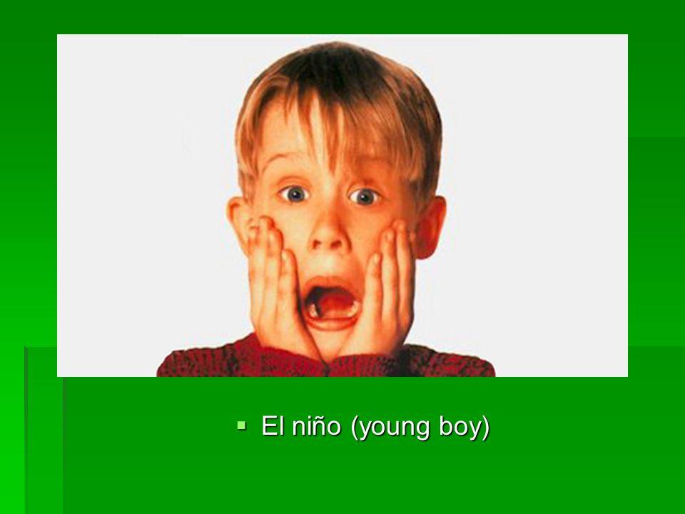 El niño (young boy) El niño (young boy)