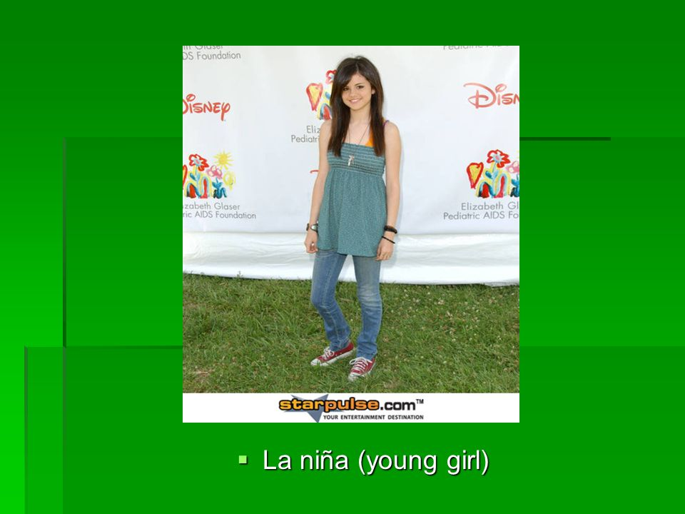 La niña (young girl) La niña (young girl)