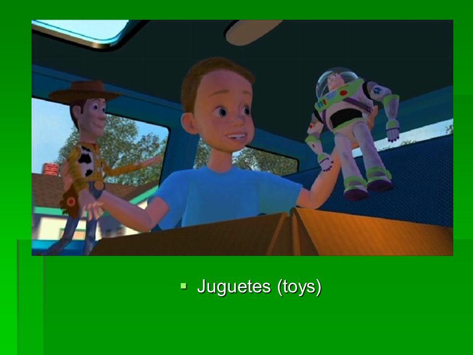 Juguetes (toys) Juguetes (toys)