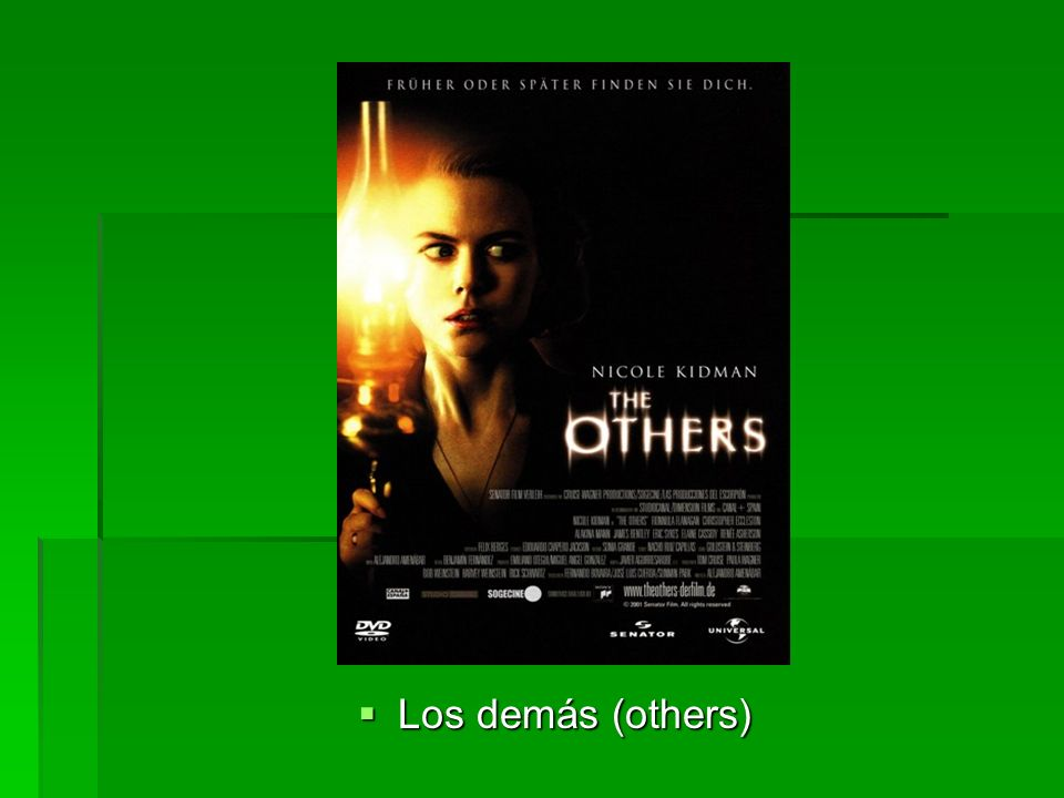 Los demás (others) Los demás (others)