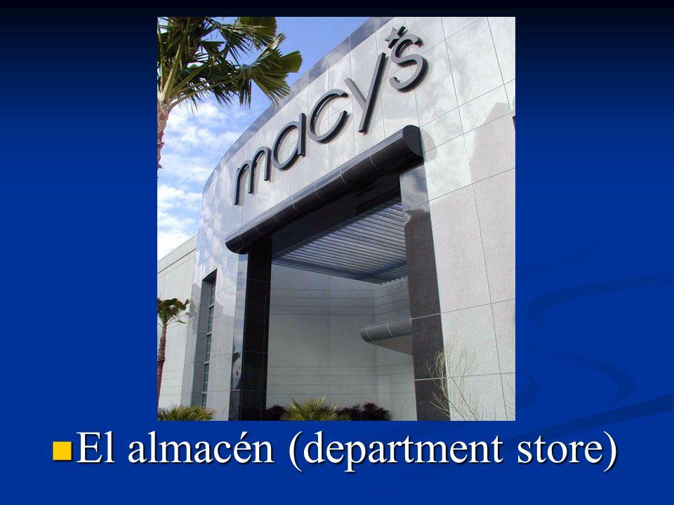 El almacén (department store)
