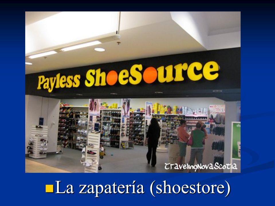 La zapatería (shoestore)