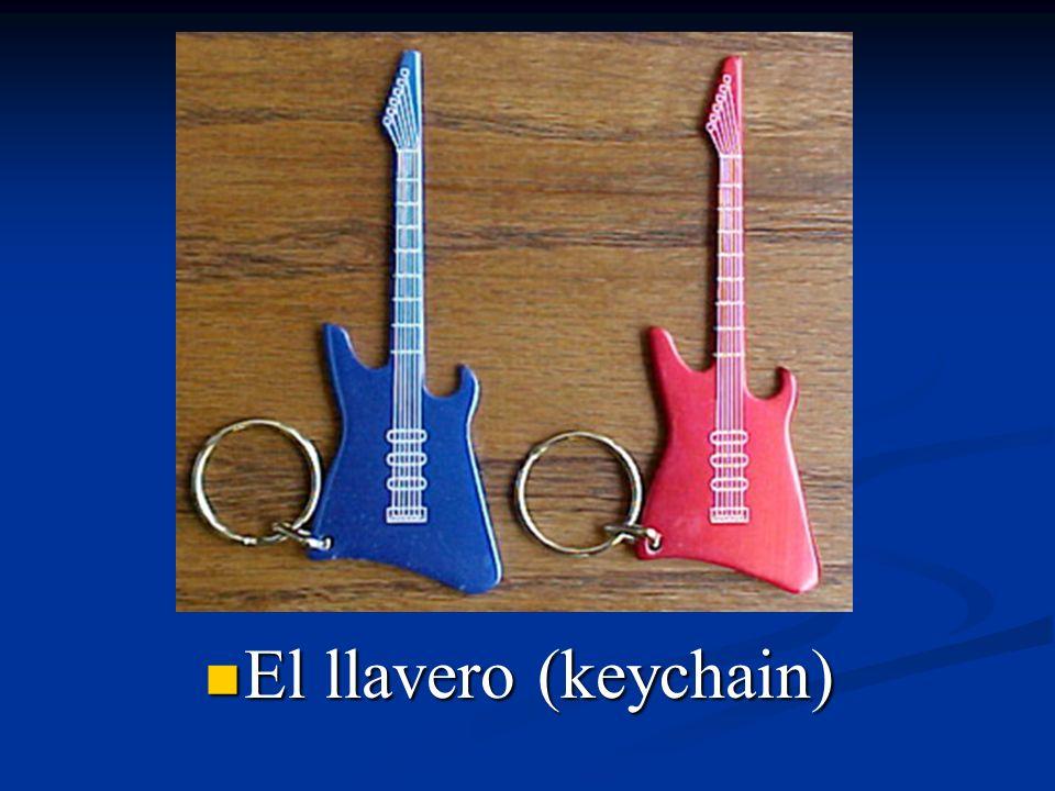 El llavero (keychain)