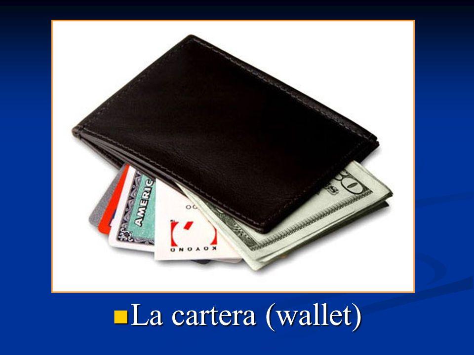 La cartera (wallet)