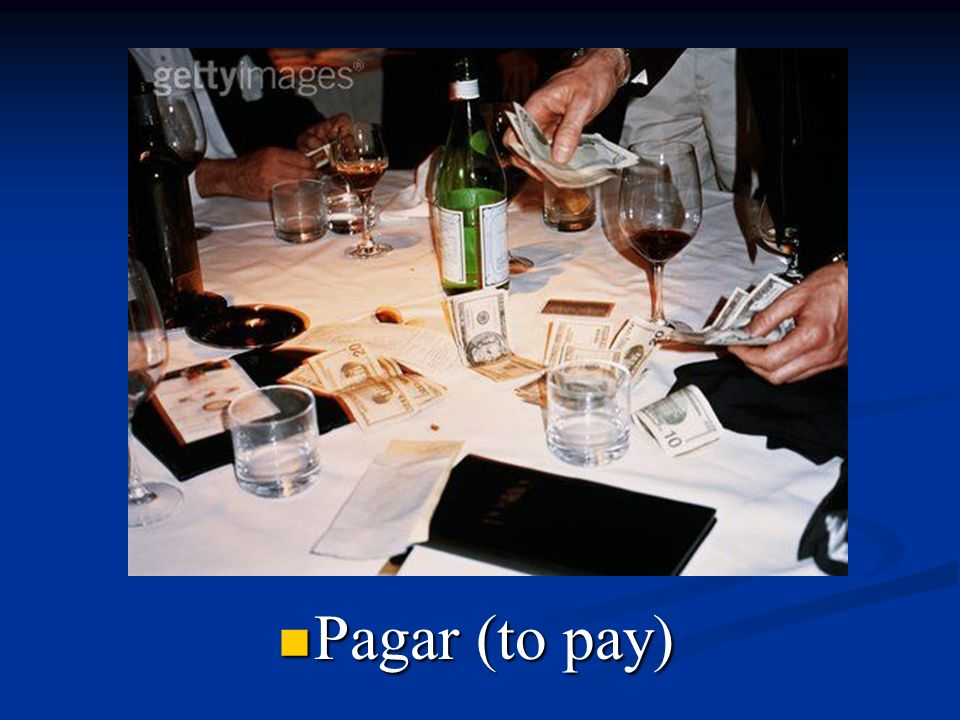 Pagar (to pay)