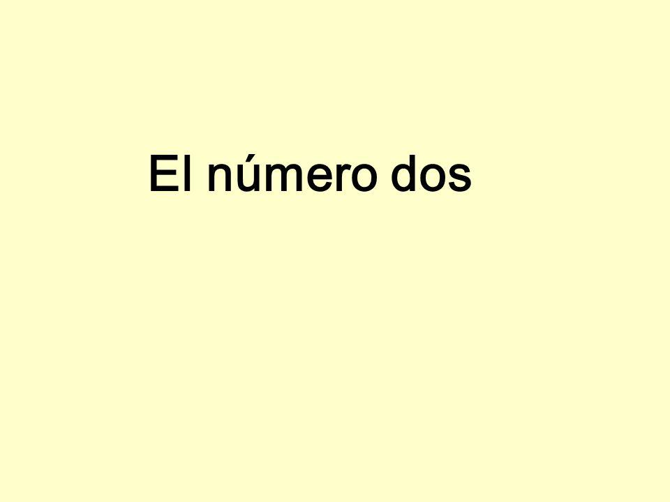 El número dos