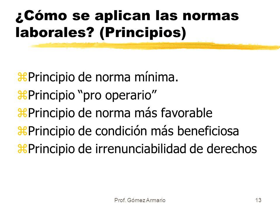 Prof. Gómez Armario12 z Los Convenios Colectivos. Acuerdo entre los representantes de los trabajadores y los y los empresarios en los que se establece