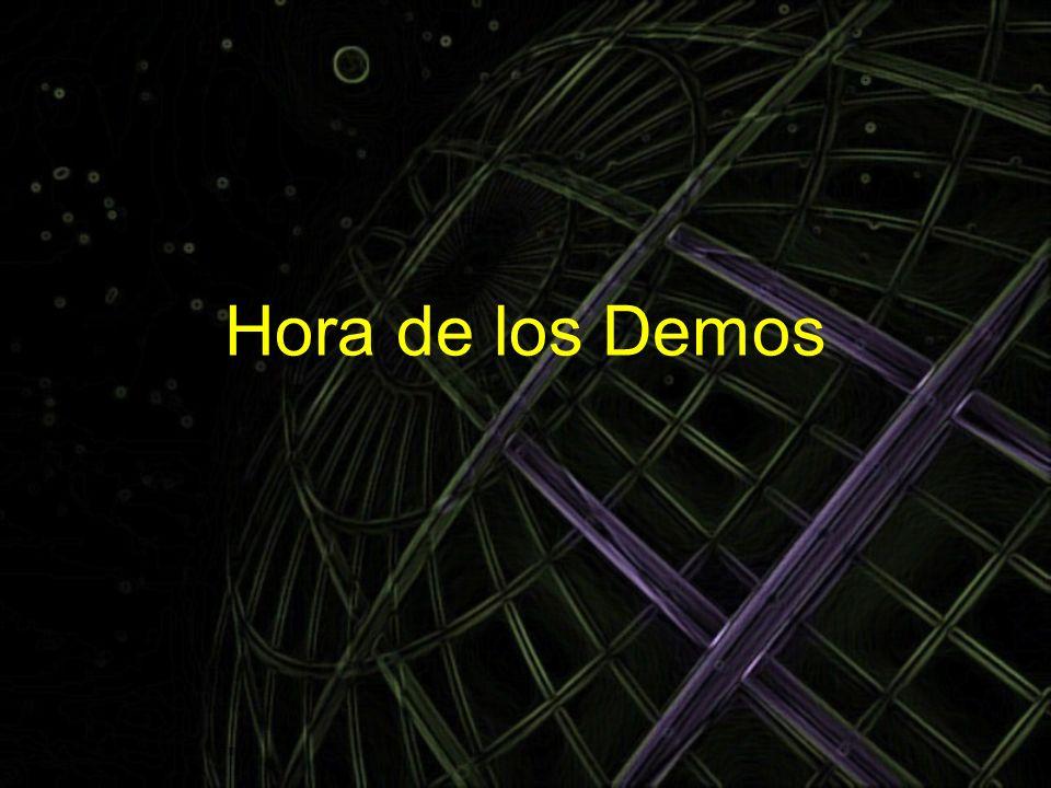 Hora de los Demos